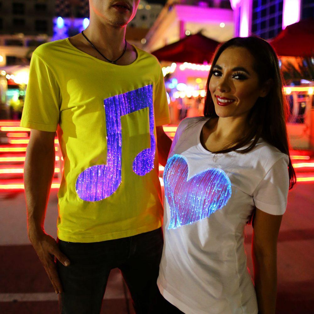 Led T shirts