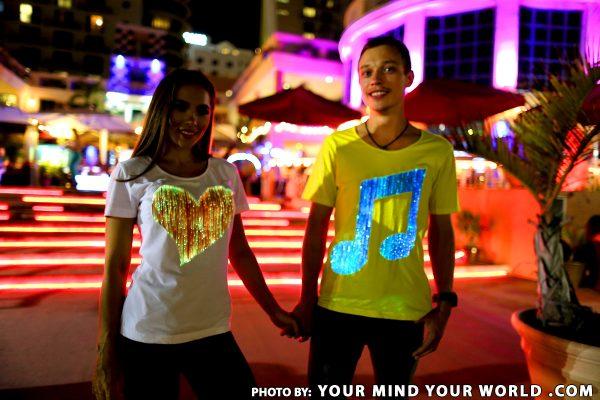 Luminous T shirts