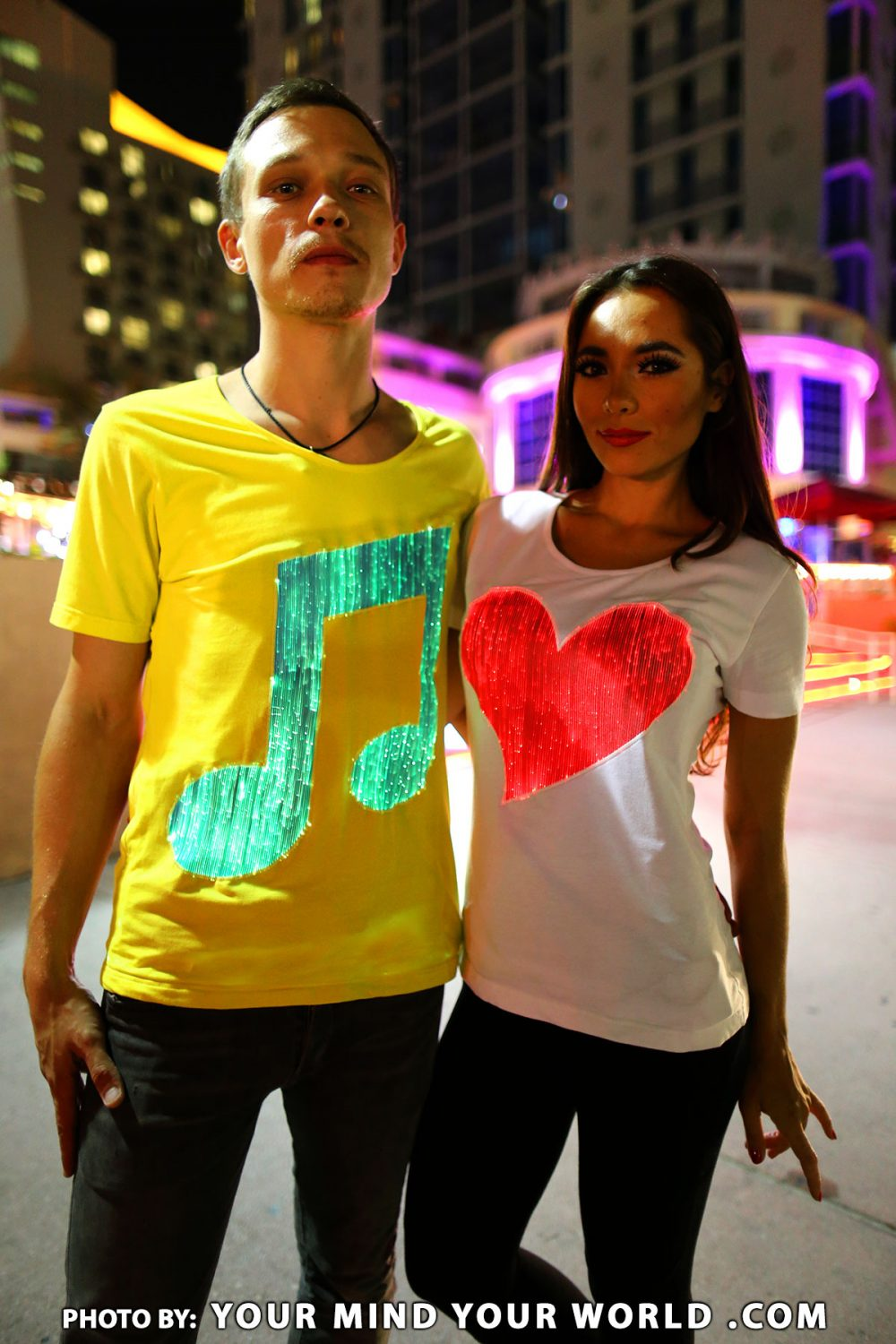 Led Rave clothing