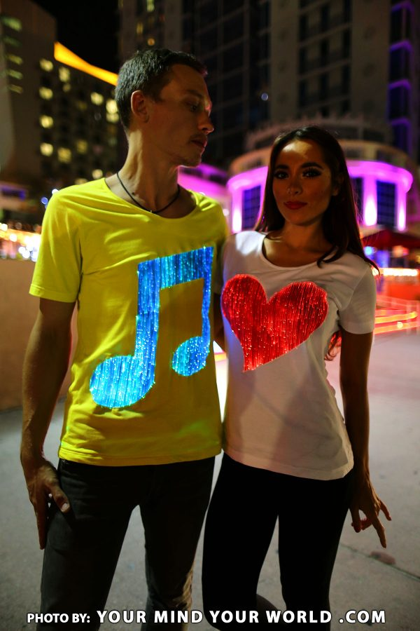 led costumes clubwear