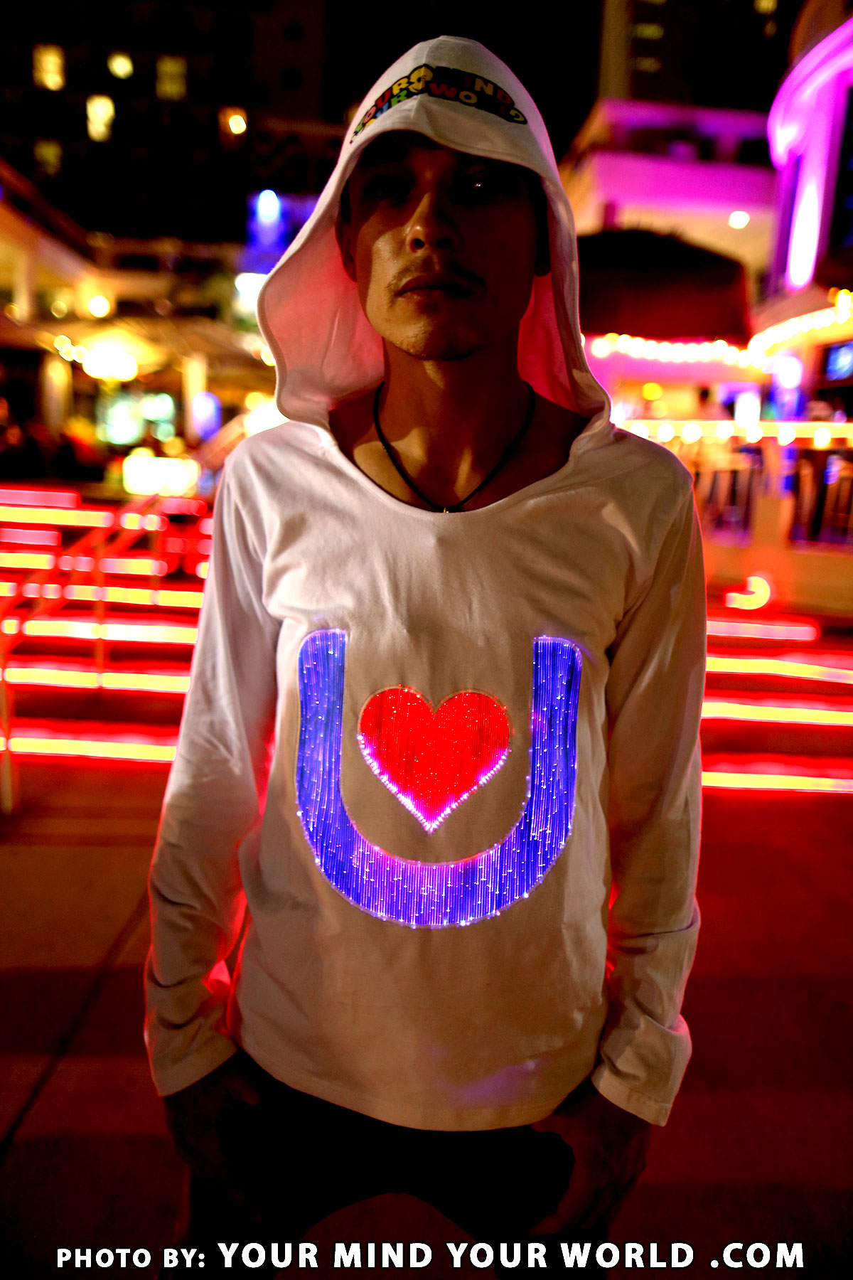 Rave Gear Best Outfits Light Up Sweatshirt For Boys - YMYW