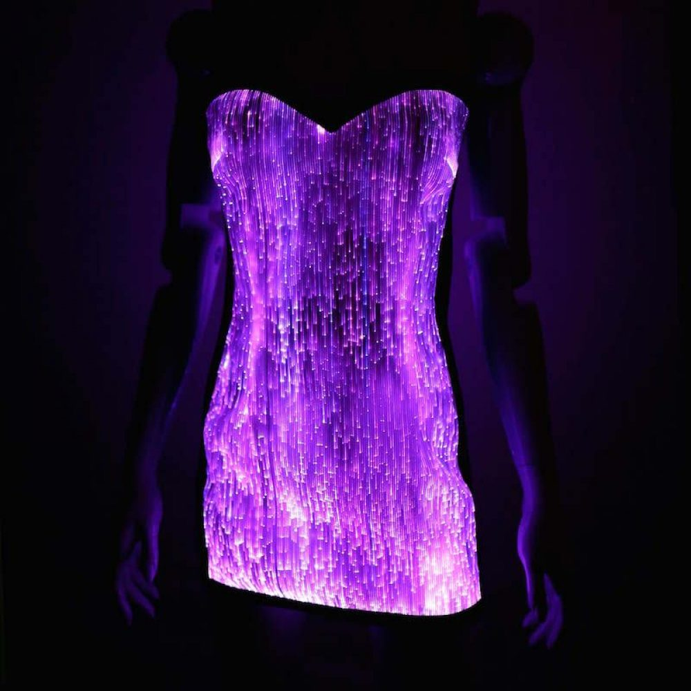 glow in the dark dress