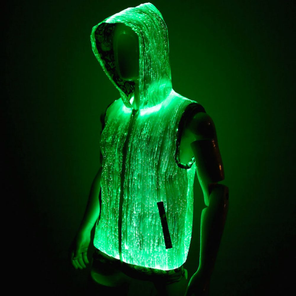 led hoodie for men