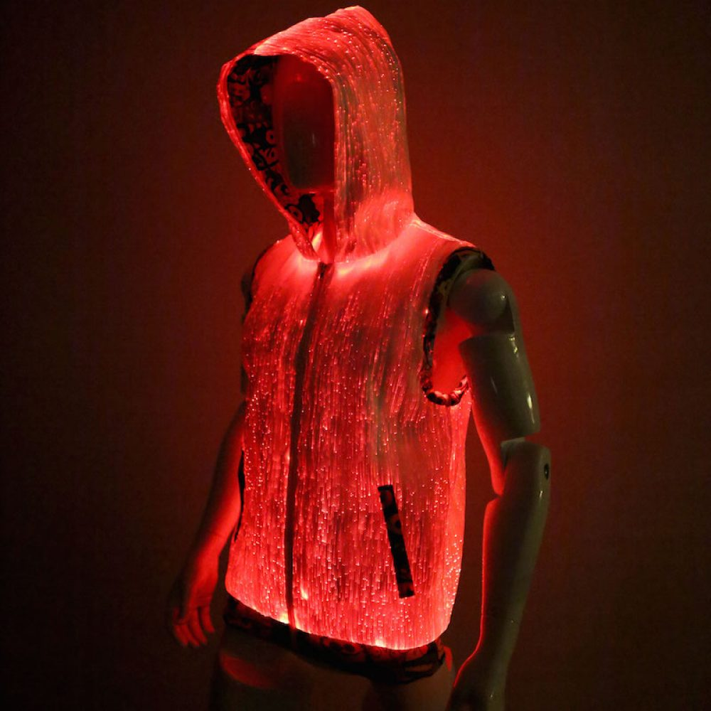 light up hoodie for men