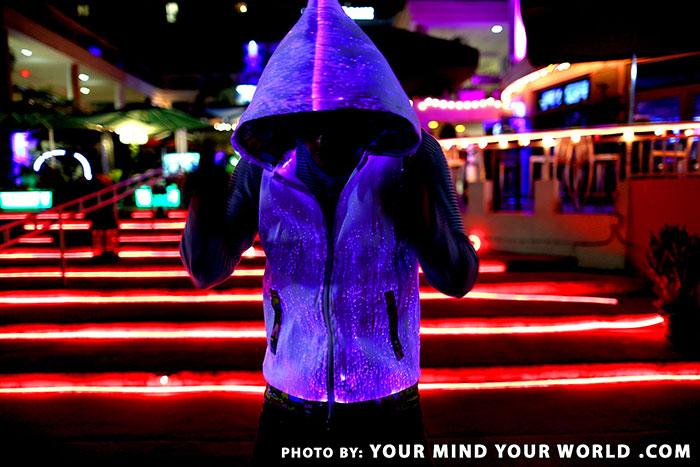 Fiber-optic-hoodie