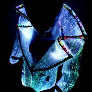 light up clothing - coat