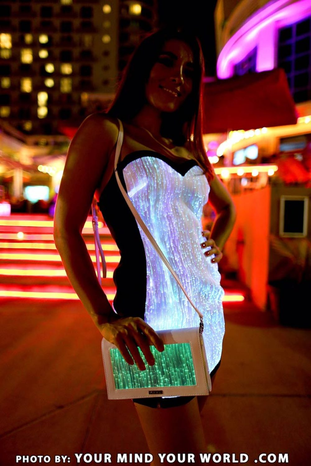 light up dress