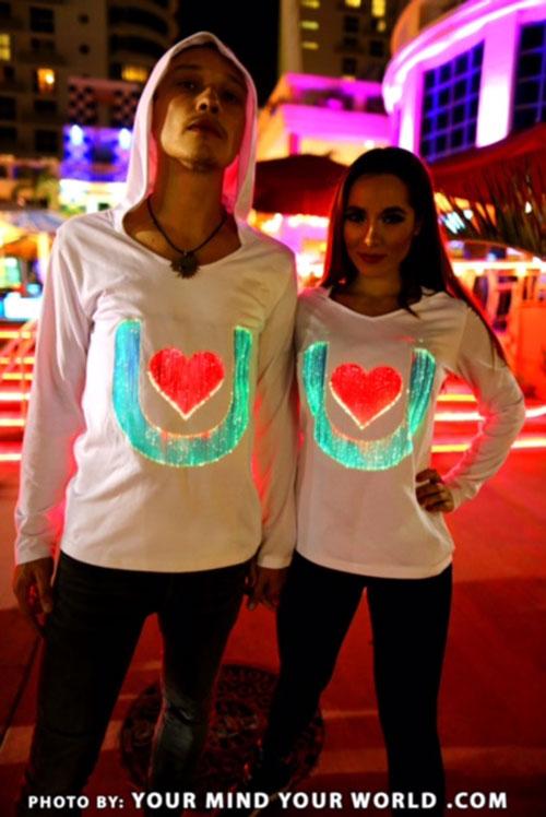 light up sweatshirts for men and women