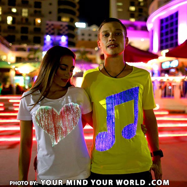 Glowing t shirts