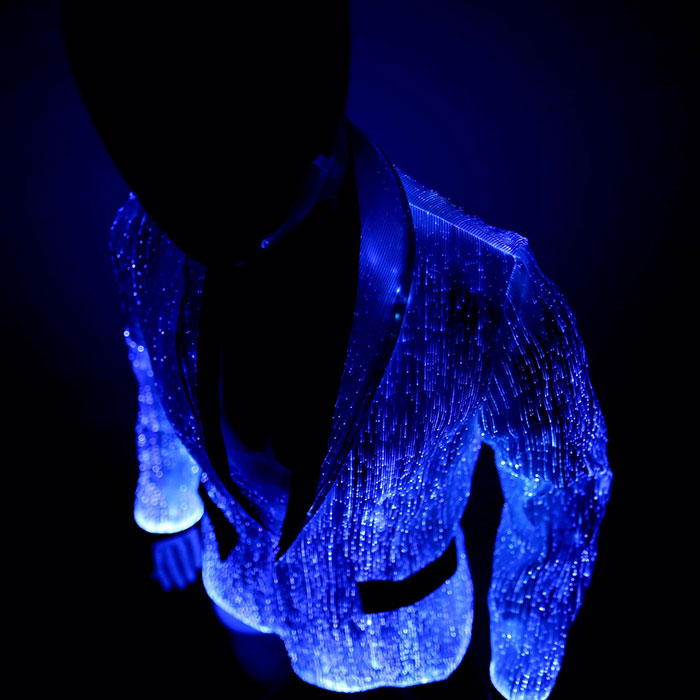 light up fiber optic jacket