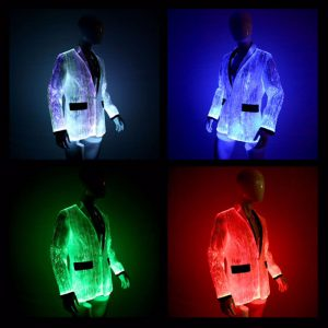 mens fiber optic jacket