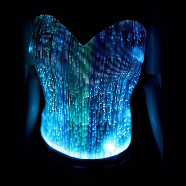 Light up sexy bra