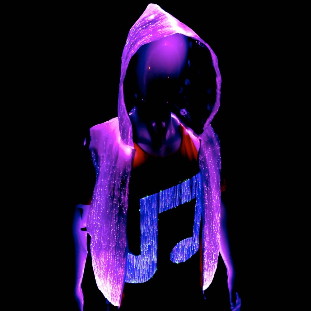 rave outfit light up hoodie