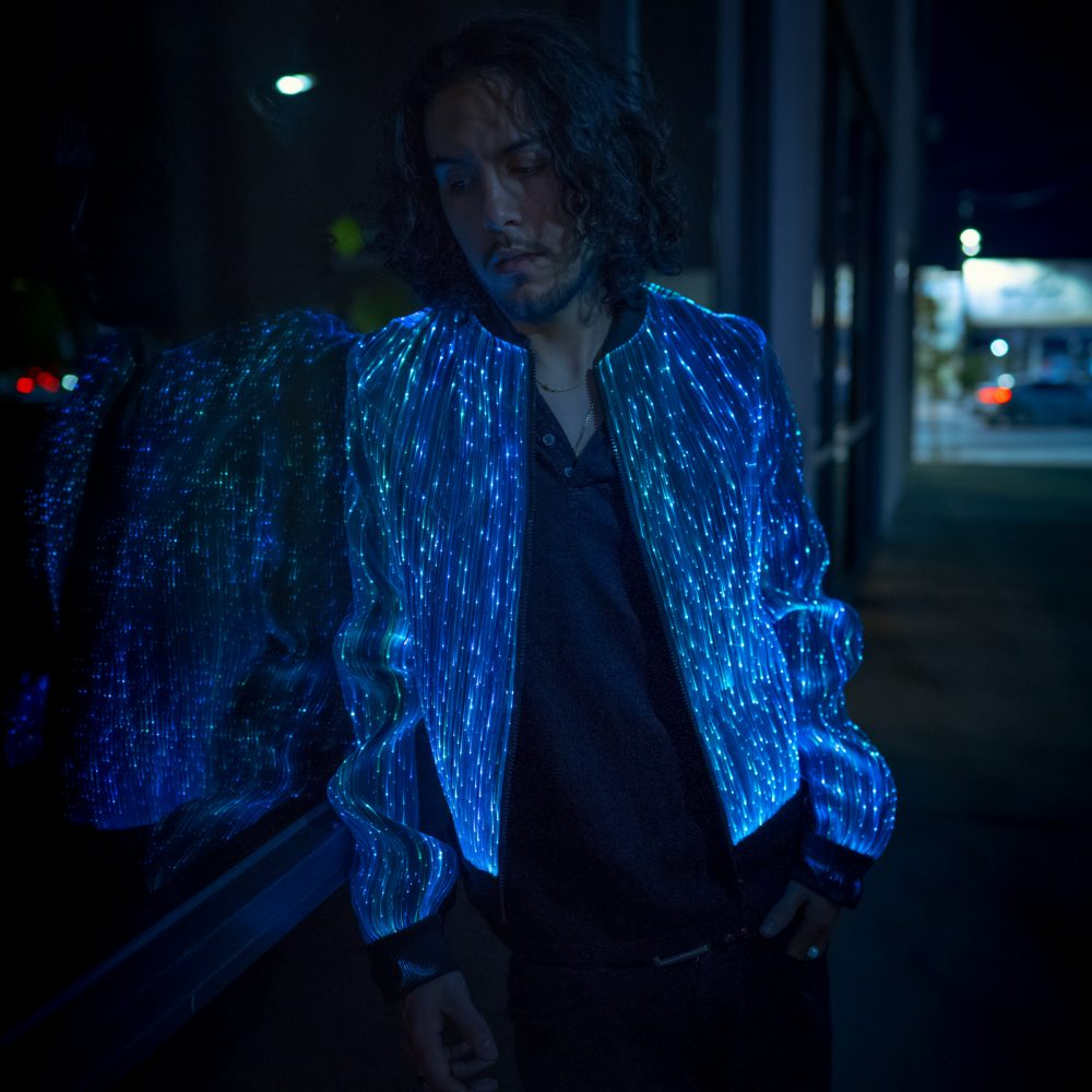 LED Bomber Jacket