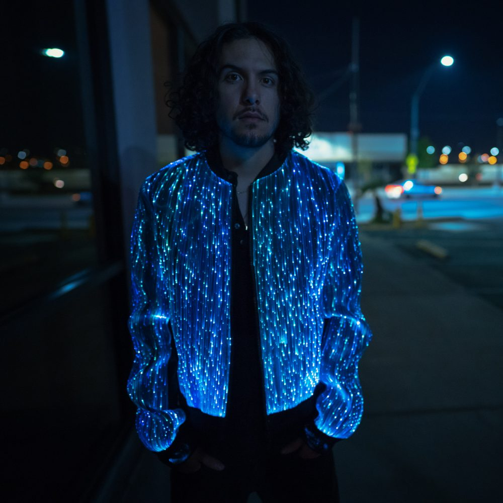 Light Up Bomber Jacket for Men