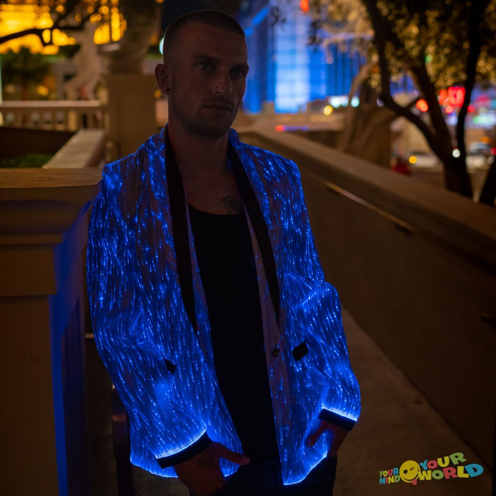 Led light up jacket