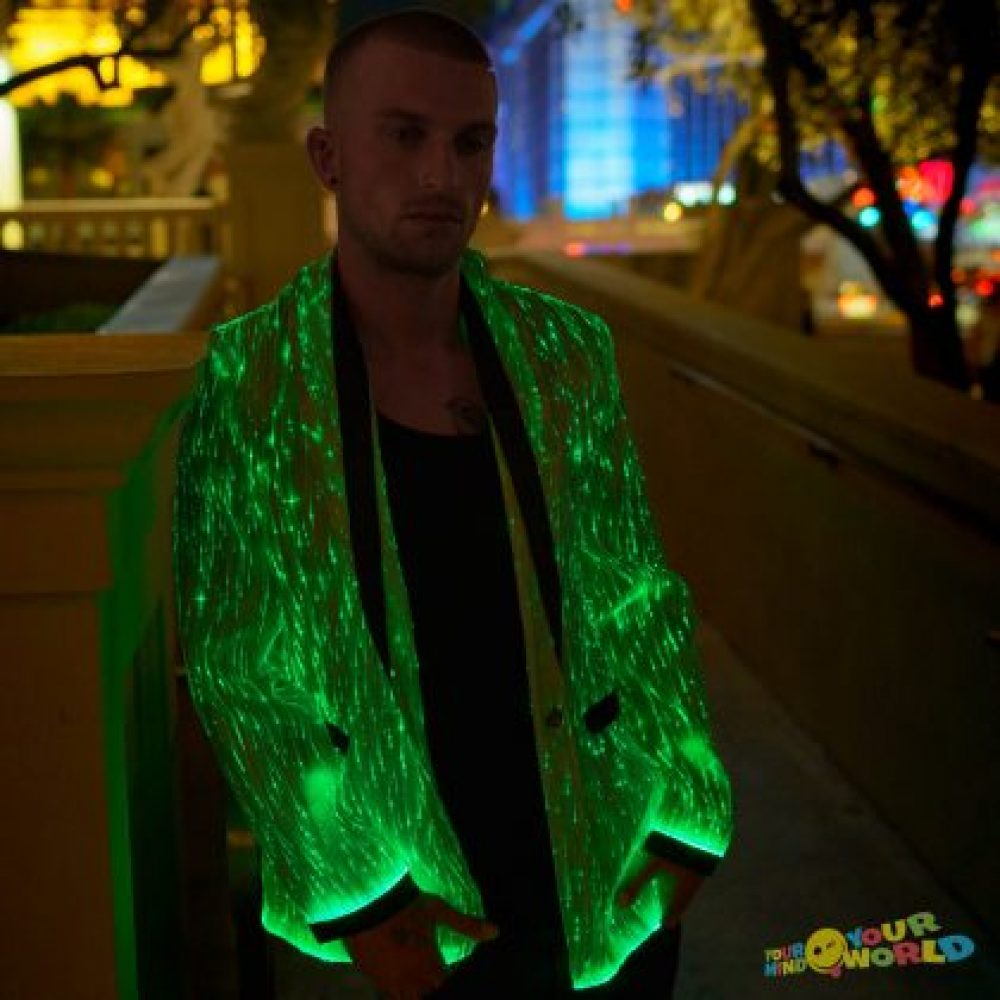 Black LED Jacket