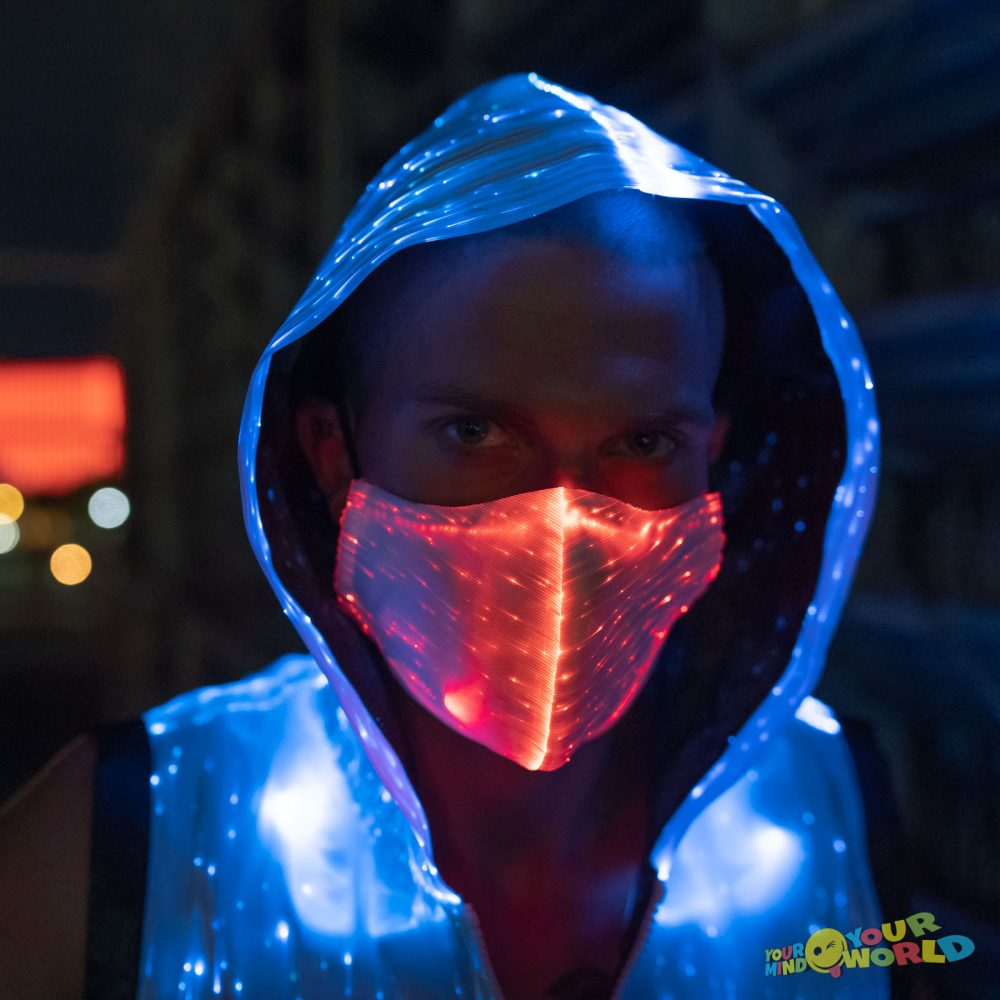 rave LED Mask