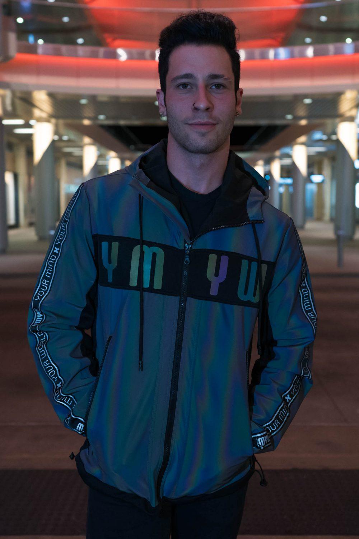 xeno reflective jacket for men