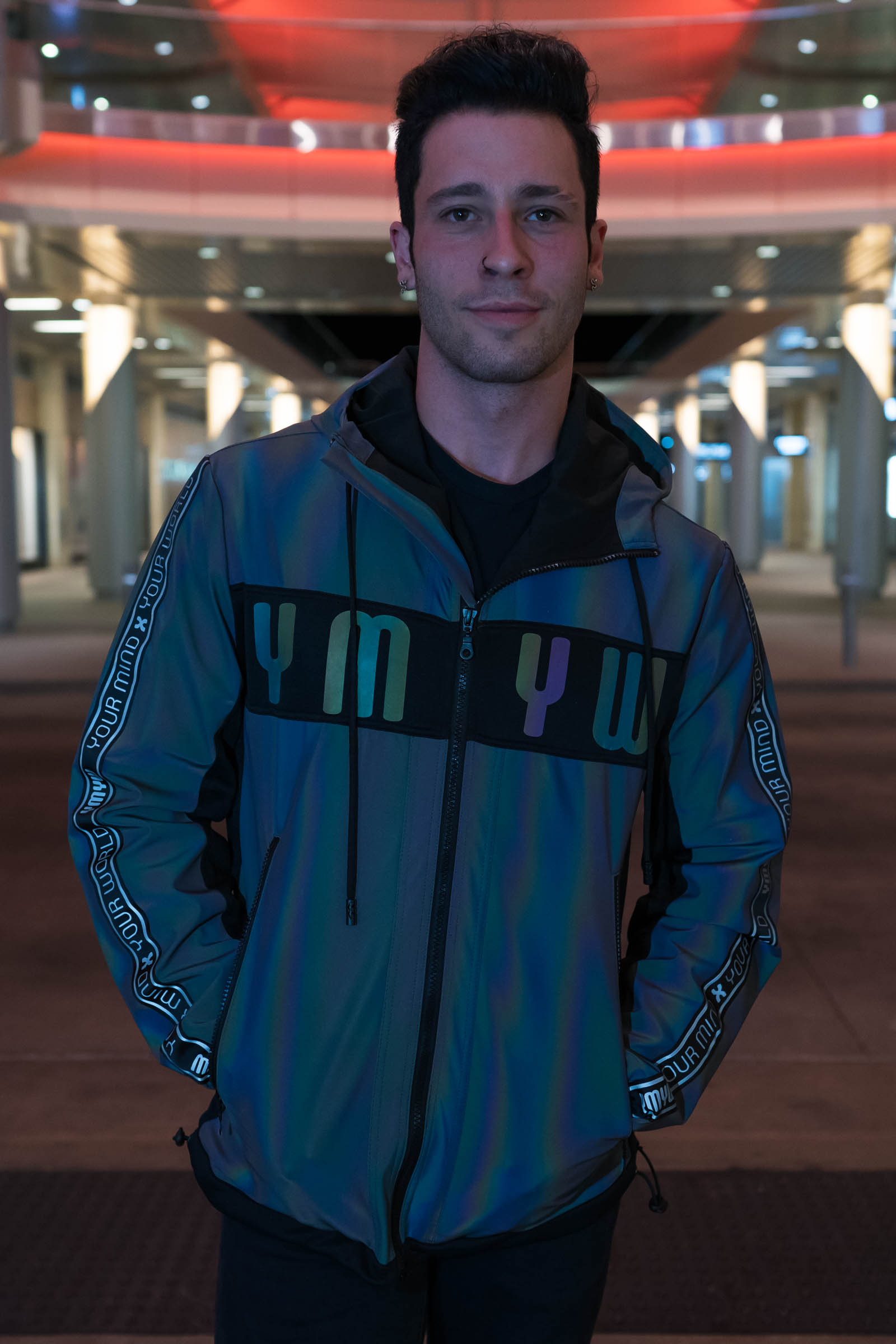 REFLECTIVE XENO JACKET FOR MEN | CHAGES