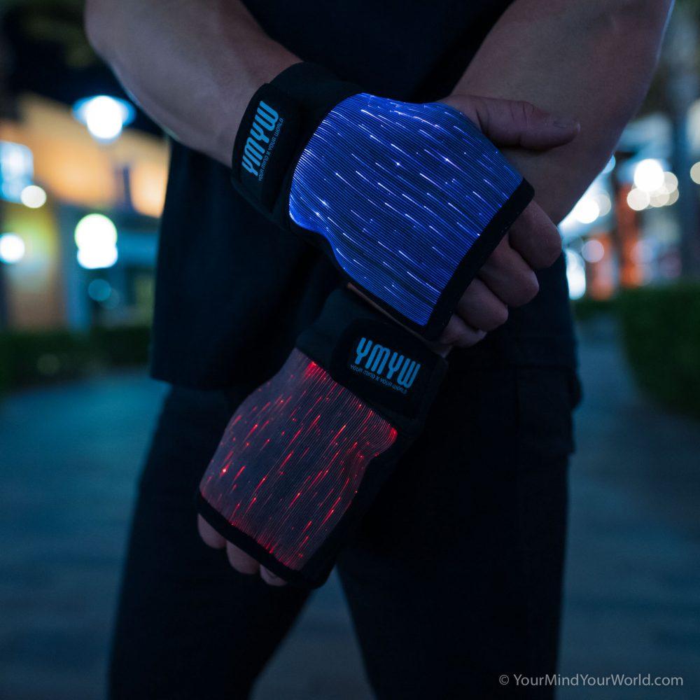 led-gloves-for men