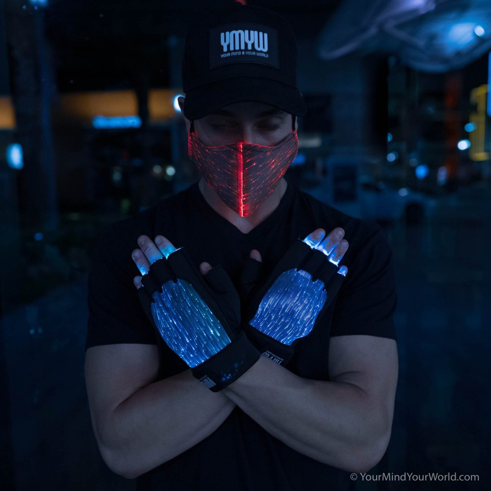 led purge mask for men