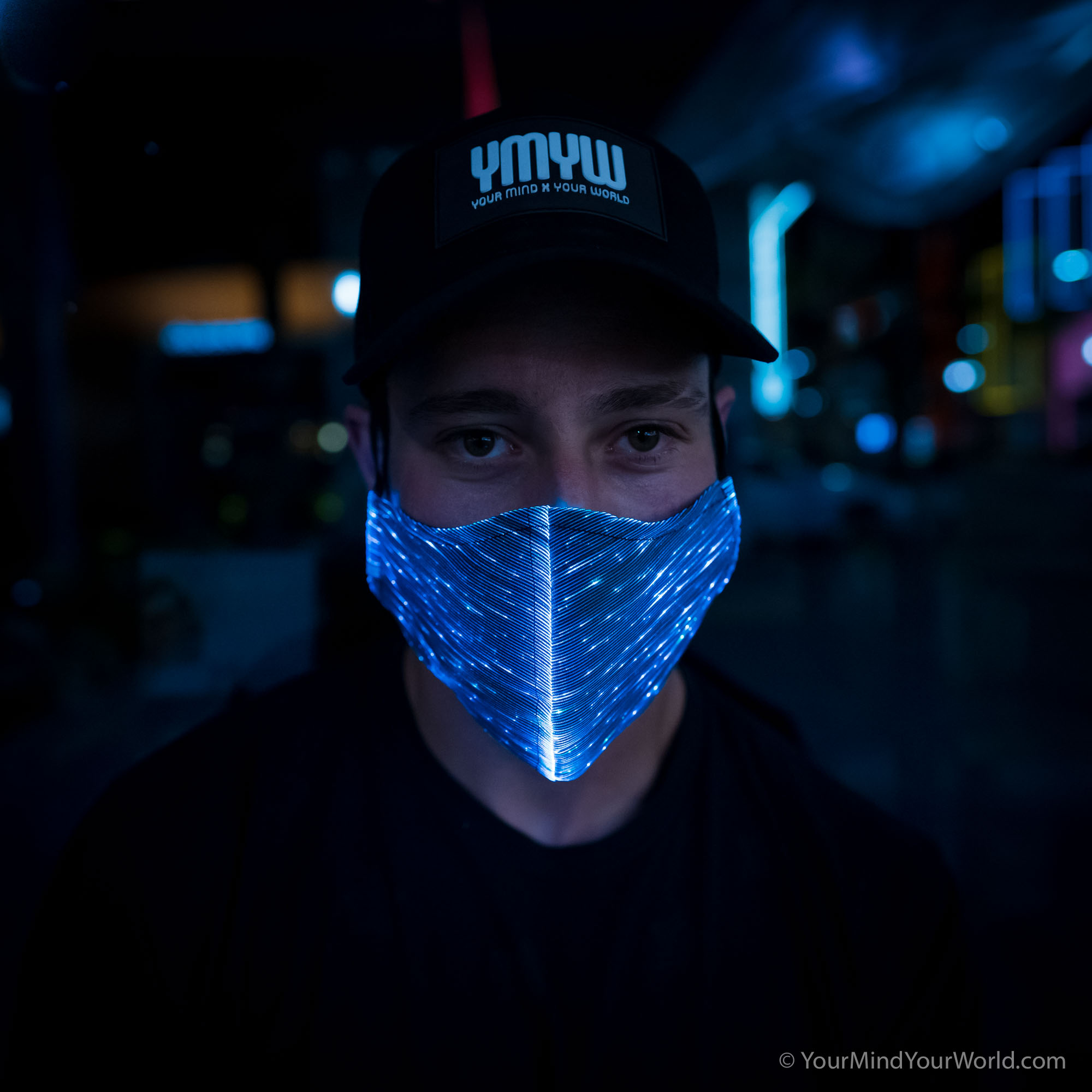 light up mask for men