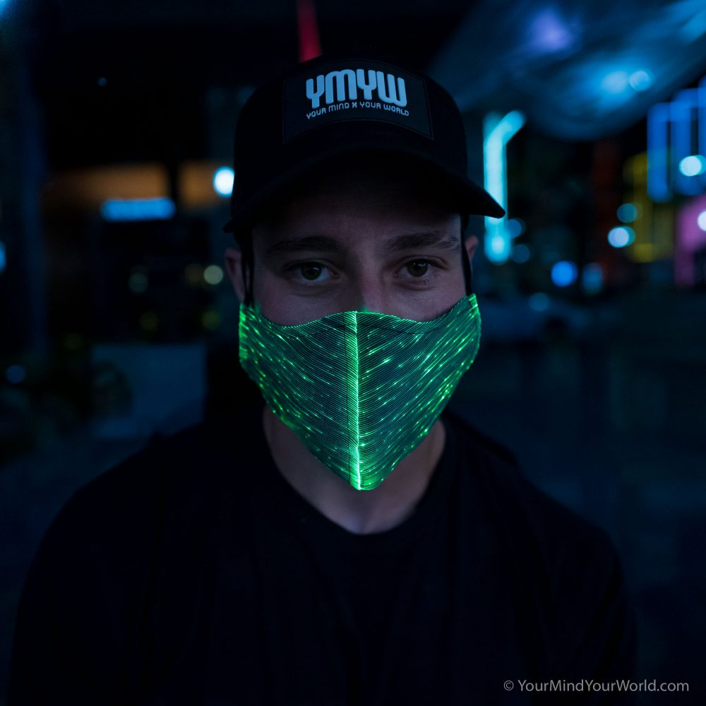 led mask for men
