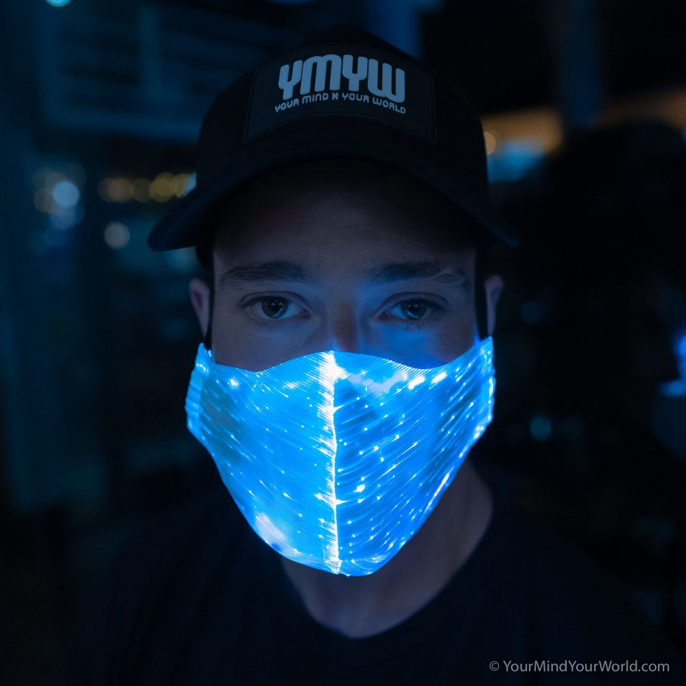 led face mask for men