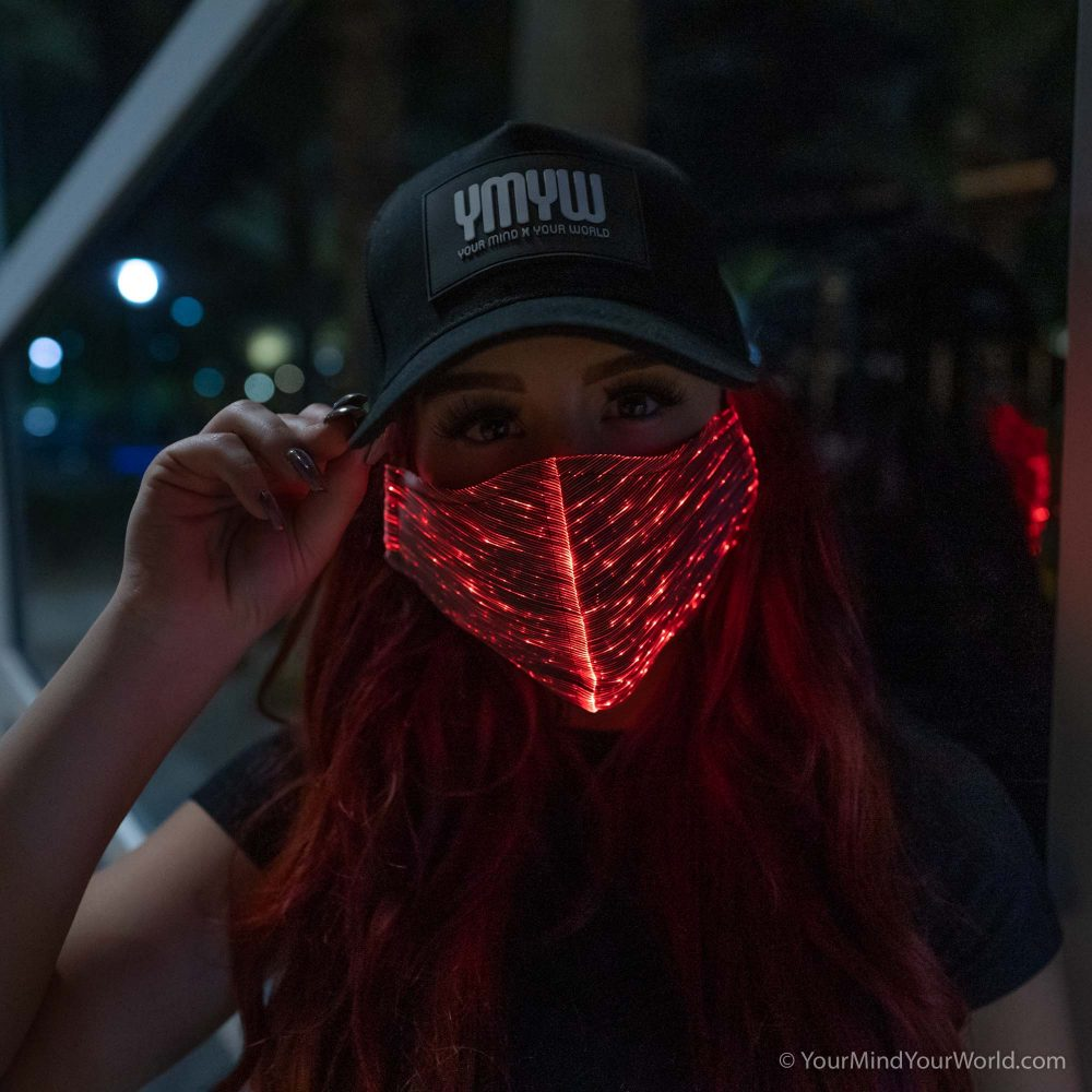 led mask for girls