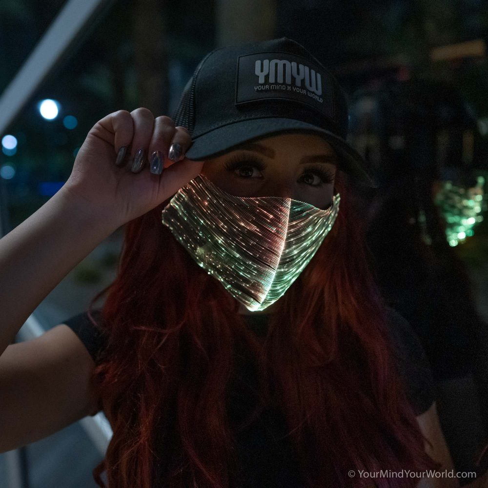 cool led mask for girls