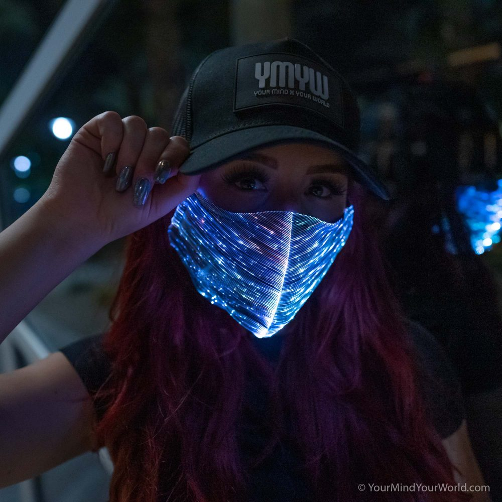 led face mask for girls