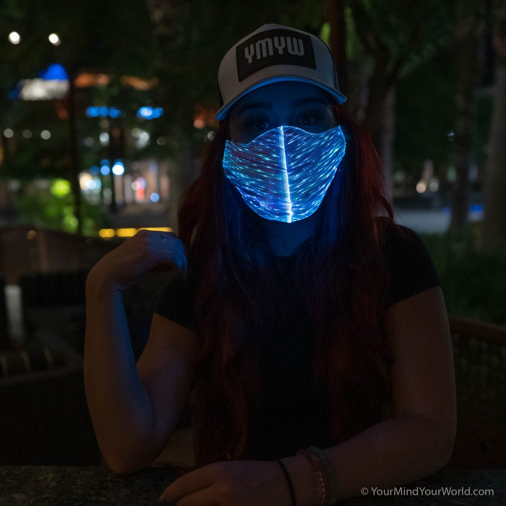 light up purge mask