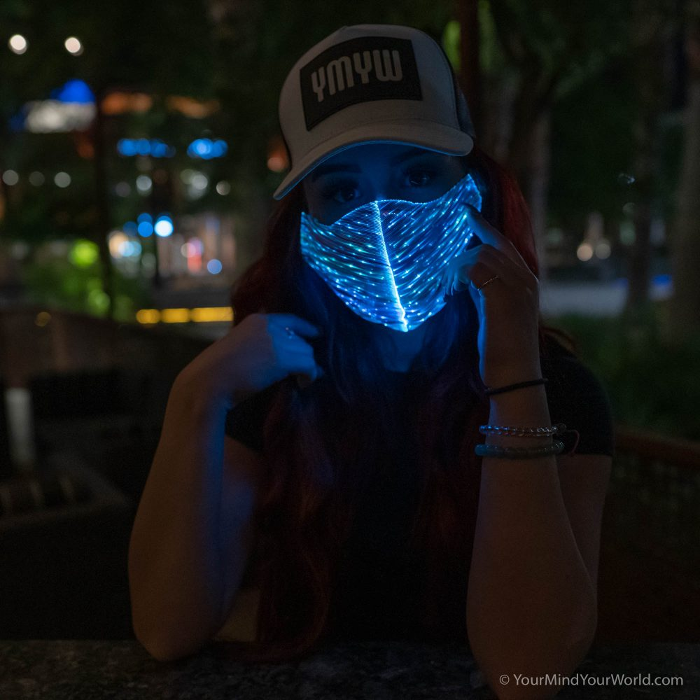 light up purge mask for girls