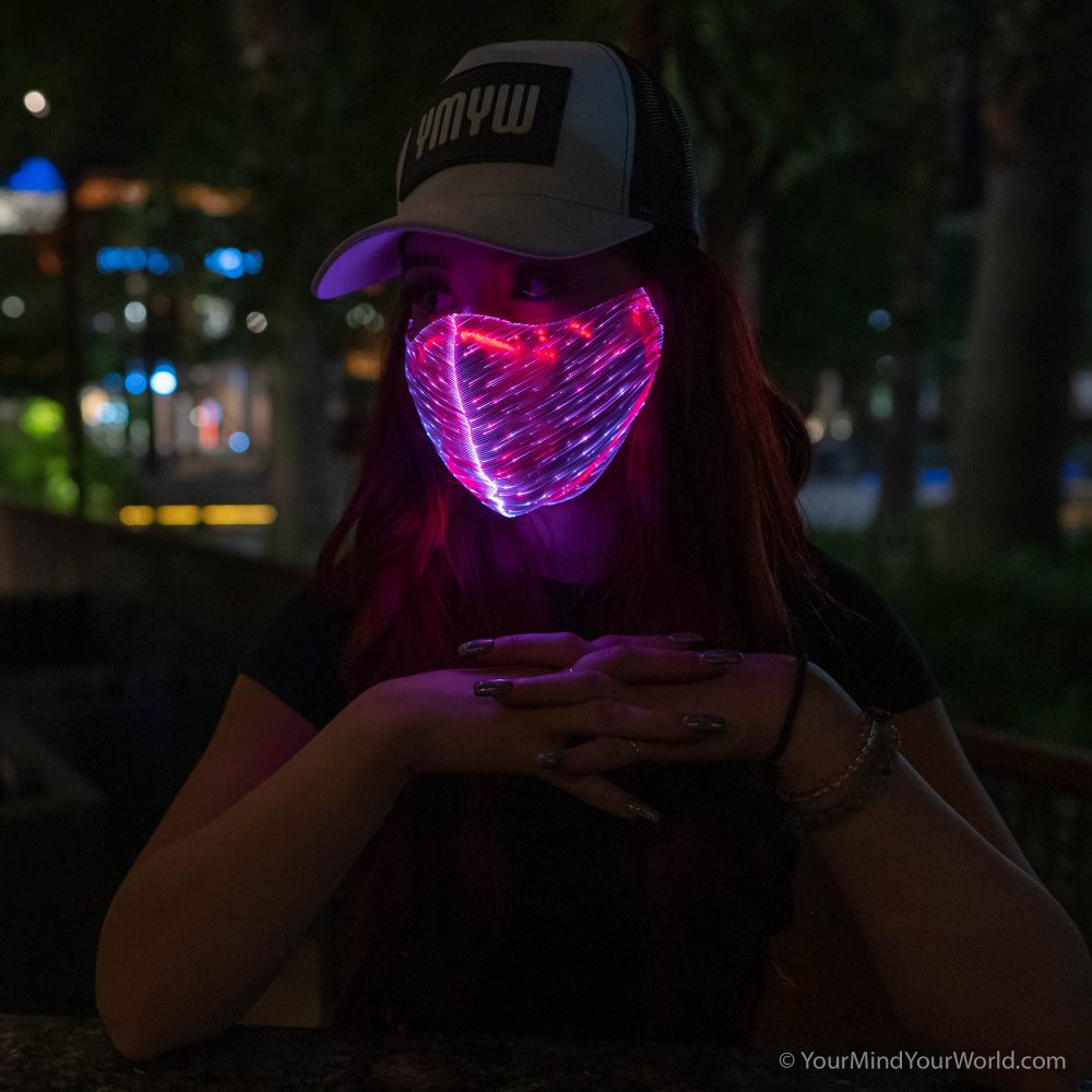 led purge mask for girls