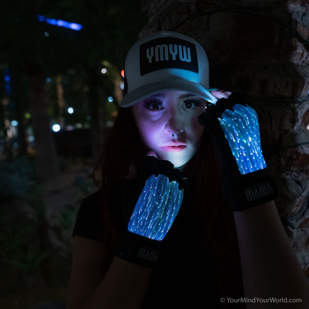 led light up gloves for girls