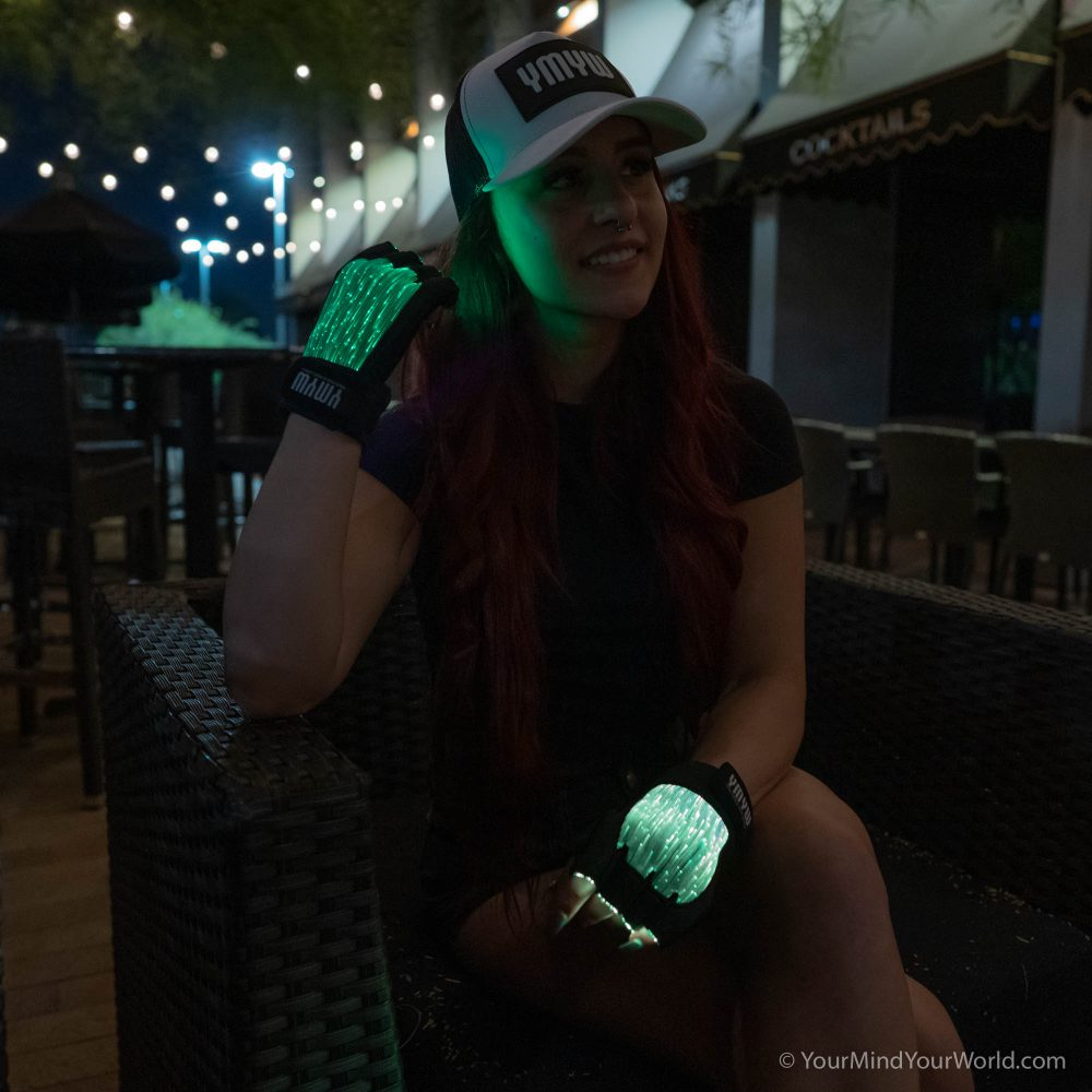 led light gloves for girls