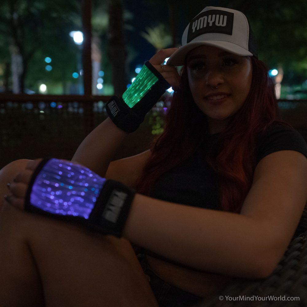 led rave gloves for girls