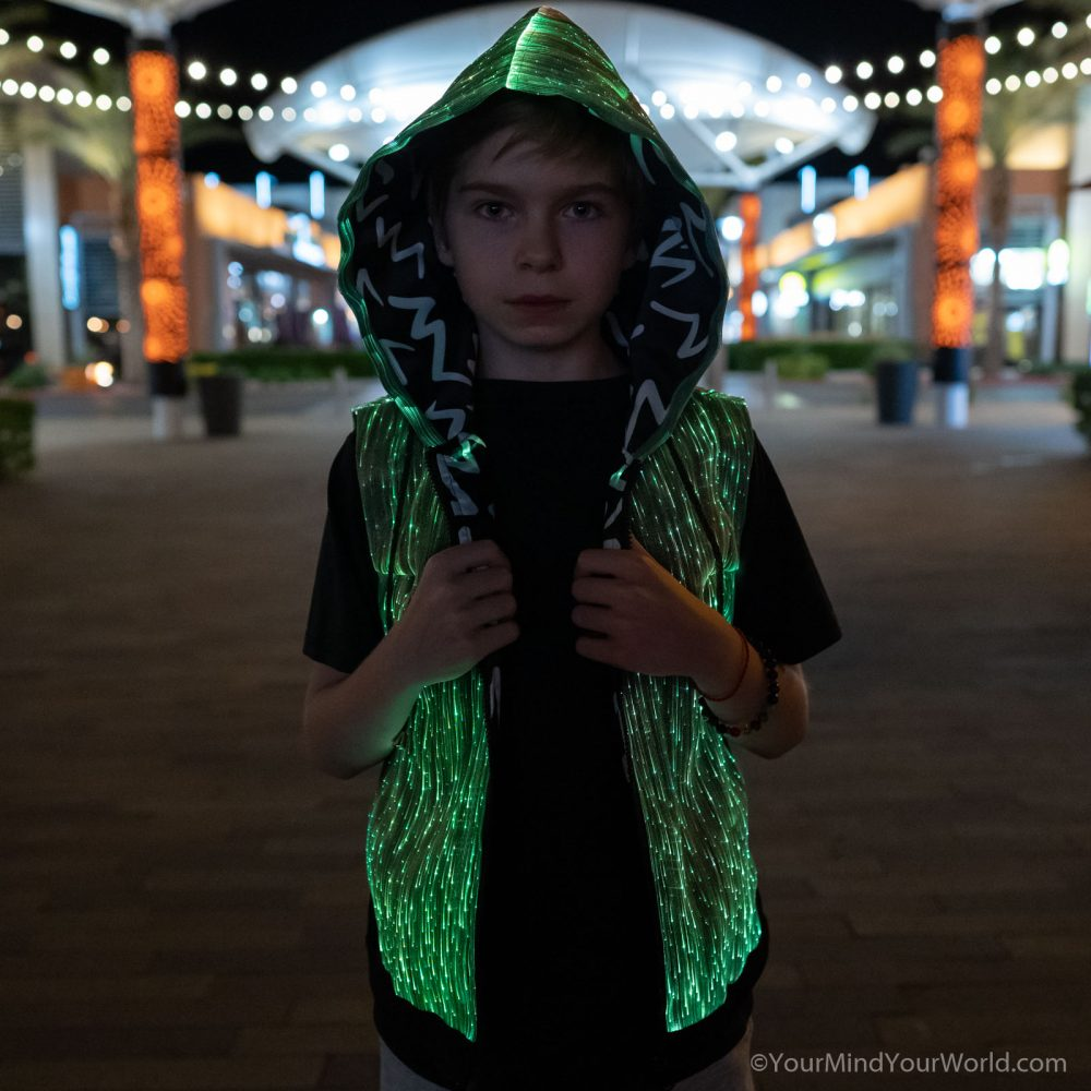 led hoodie for teens and kids