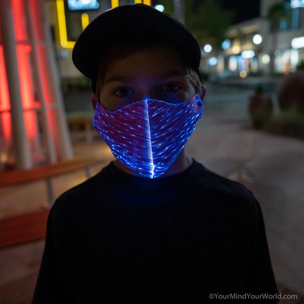led face mask for kids