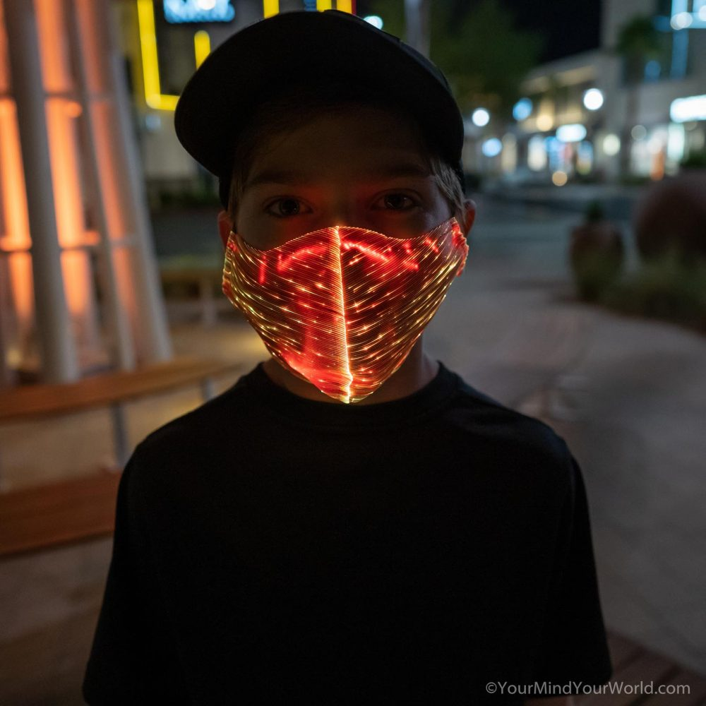 light up mask for teens