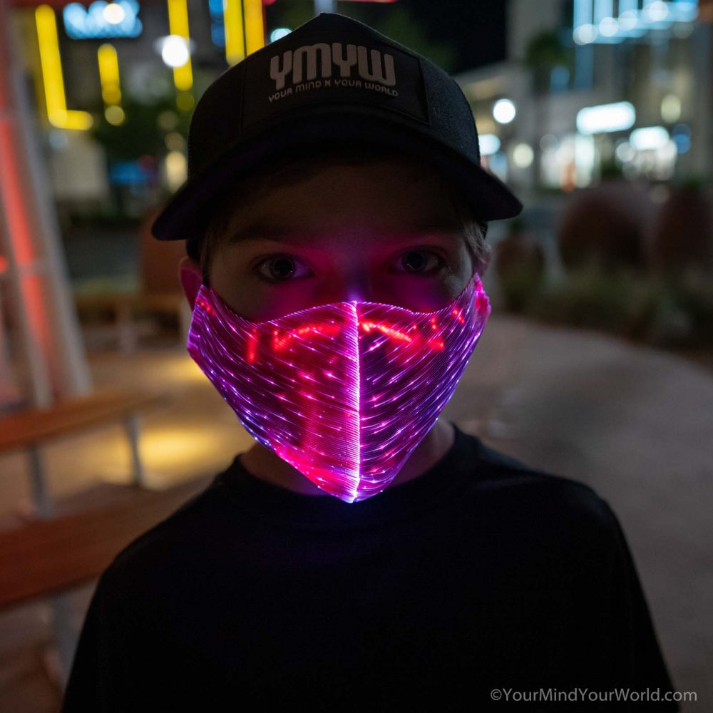 LIGHT UP MASK for KIDS and TEENS