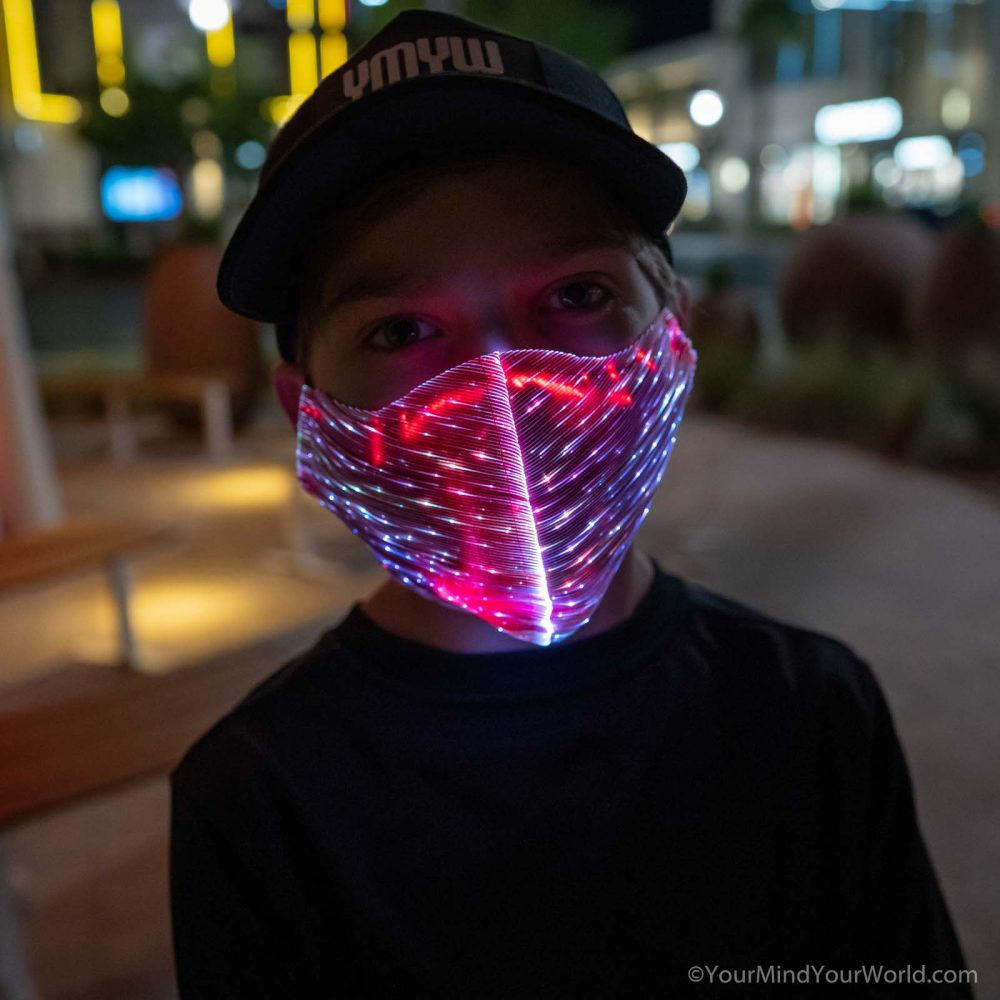 led face mask for kids and teens