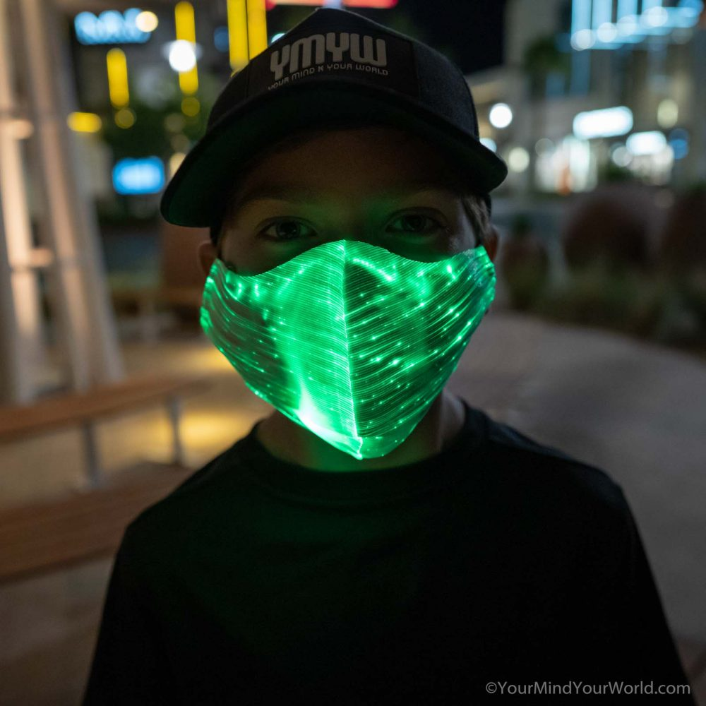 LIGHT UP MASK for KIDS & TEENS