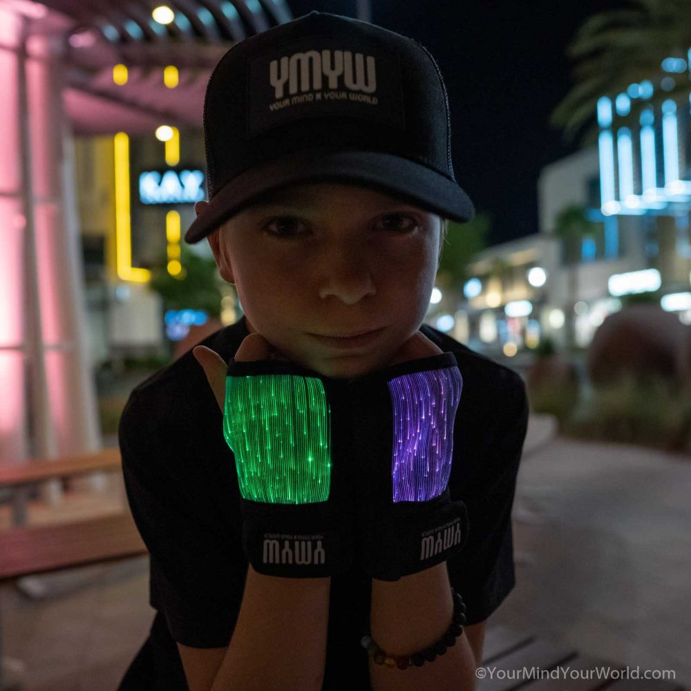 led gloves for teens