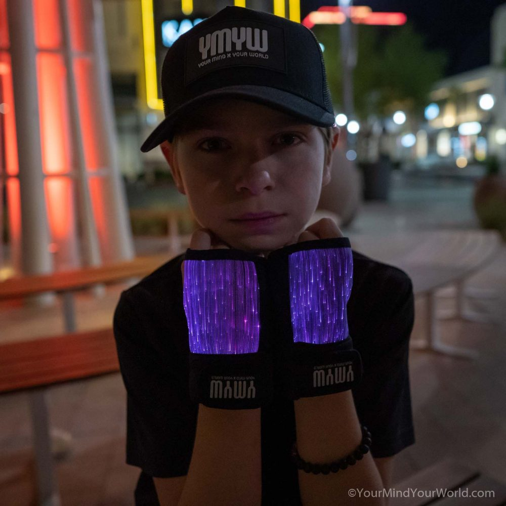 led light gloves for kids