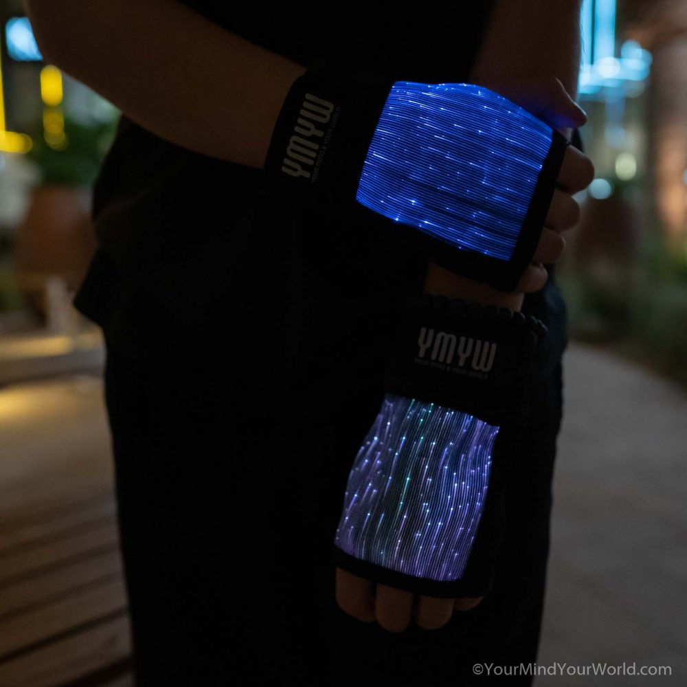 fingerless led gloves for kids and teens