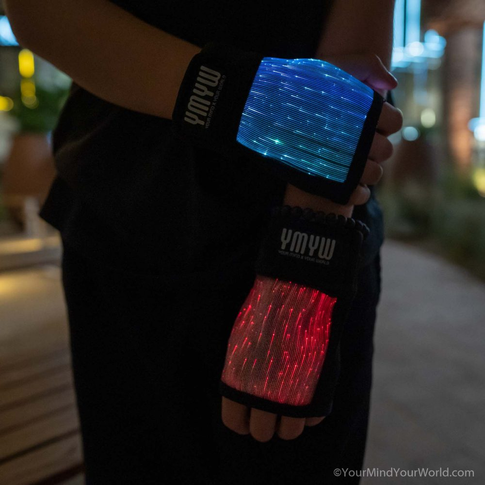 led light gloves for teens