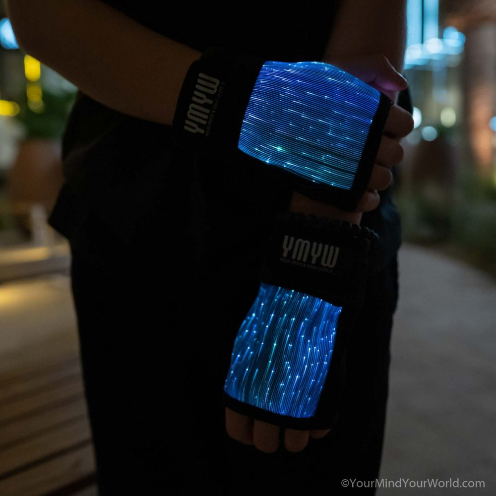fingerless led gloves for kids