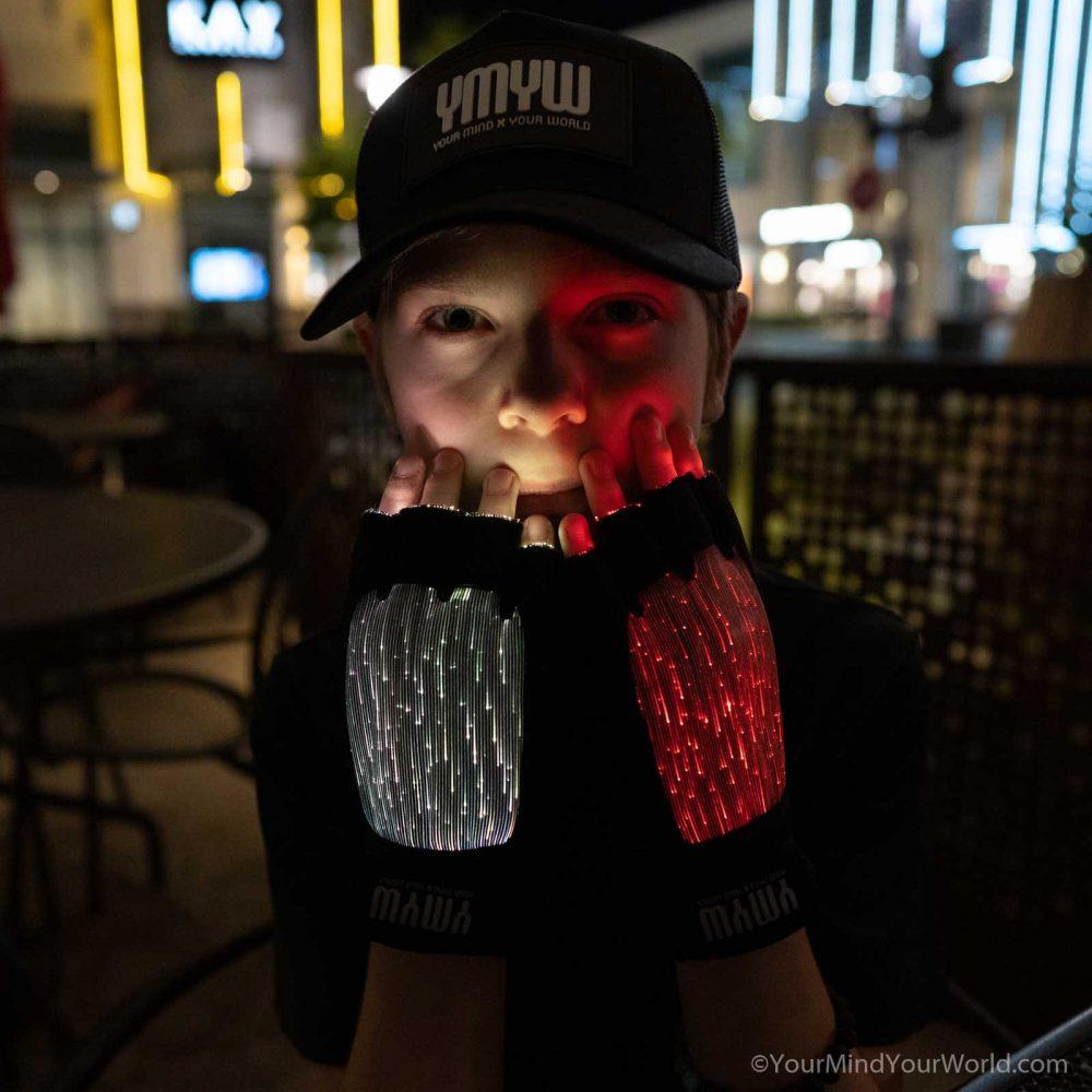 led light gloves for kids